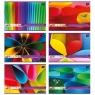 Blok techniczny A4/20k - kolorowymix wzorów